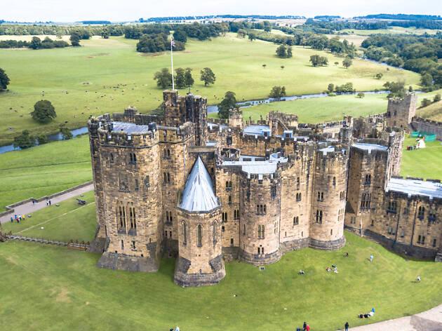 Alnwick Castle, UK