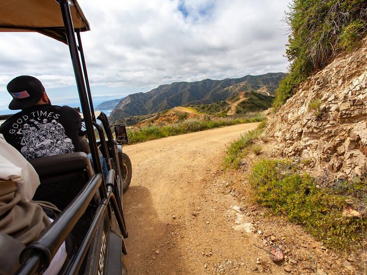 Go off-roading on the Ridgetop Eco Adventure