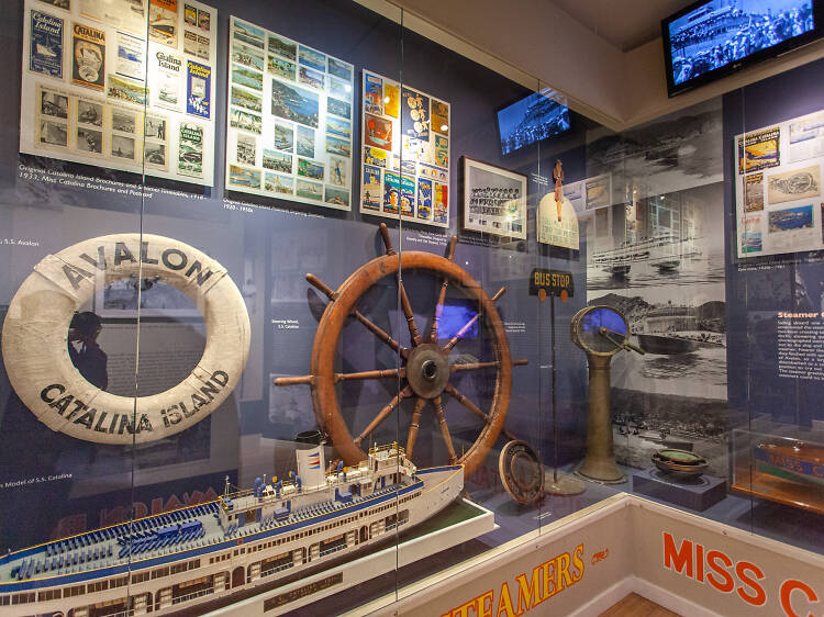 Celebrate the island's history at the Catalina Island Museum