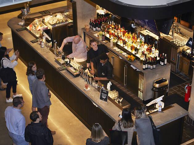 Time Out Market Boston Bar