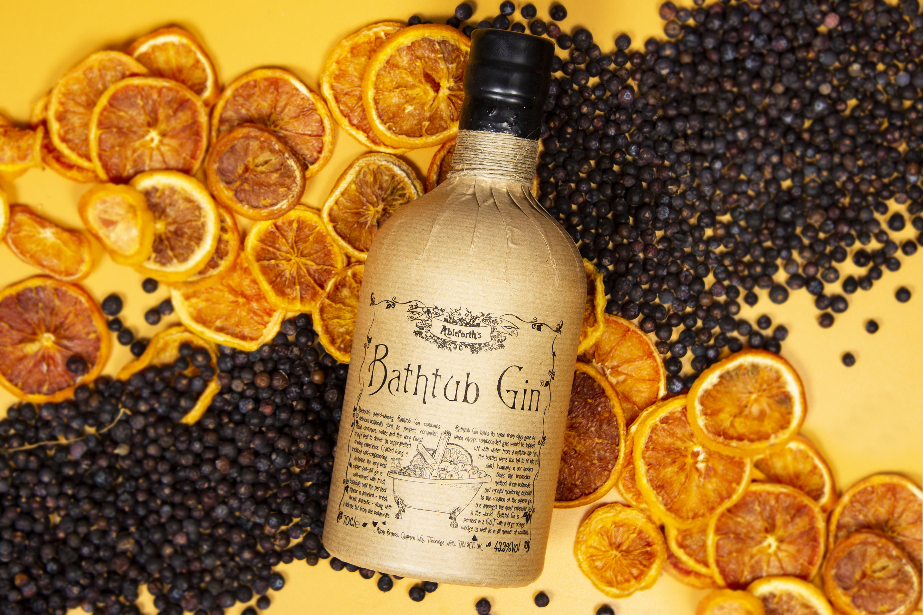 Win your dream 'week well spent' with Ableforth's Bathtub Gin