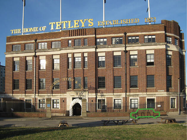 Former Tetley factory in Leeds from outside