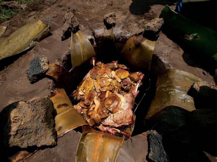 Tacos de barbacoa de borrego (Hidalgo)