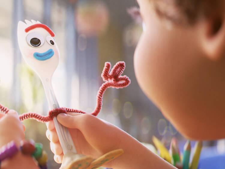 Dia 13: Dar vida ao Garfy de 'Toy Story 4'