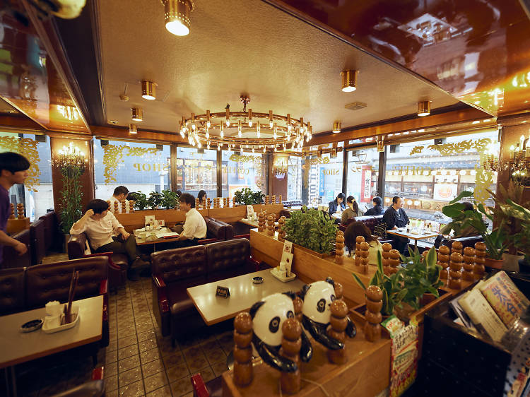 Sip coffee in an old-school kissaten at Galant