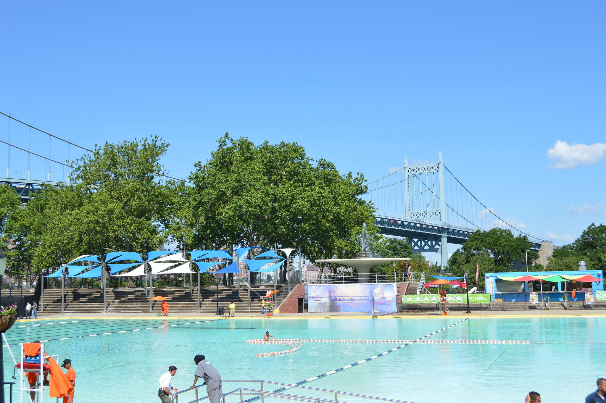 NYC pools officially open for the summer today!