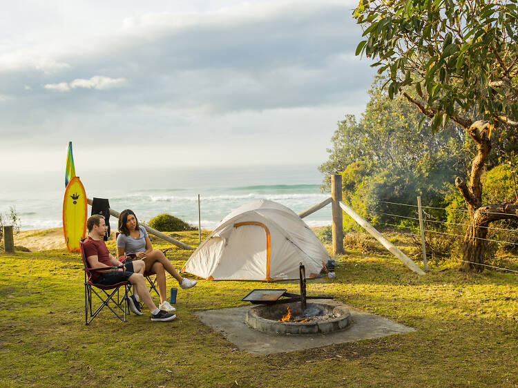 Gillards Campground, Mimosa Rocks National Park