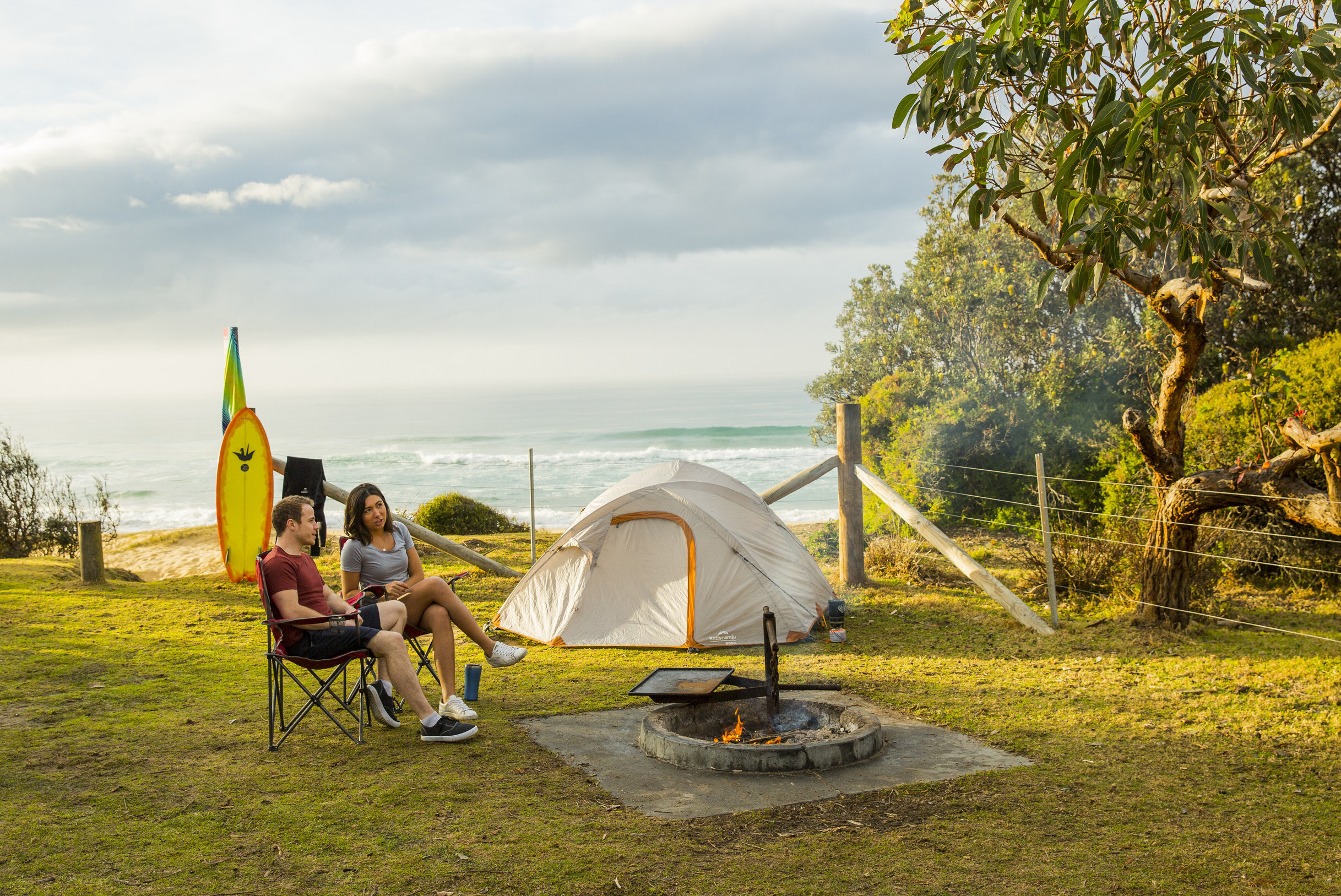 Camping, Mimosa Rocks National Park