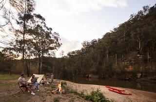 Camping, Hawkesbury River