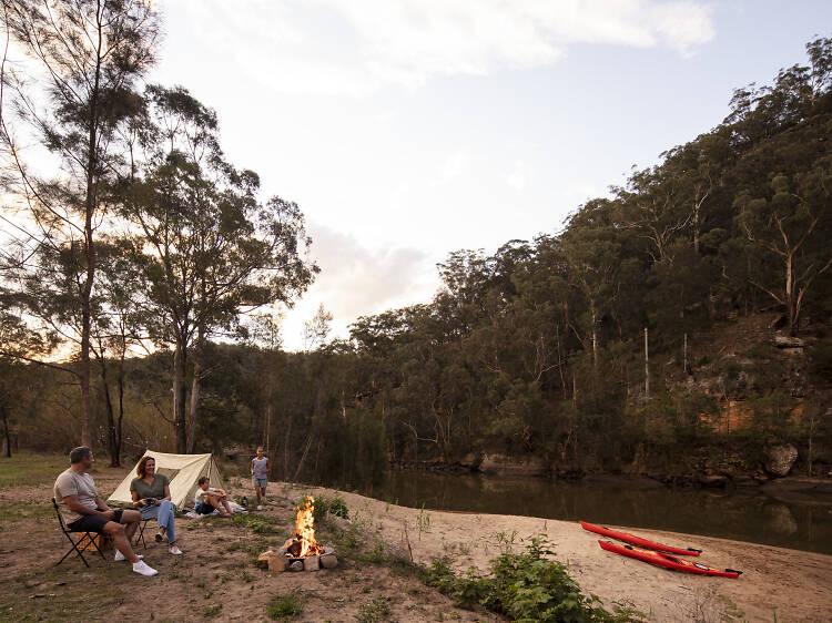 Cattai campground, Cattai National Park