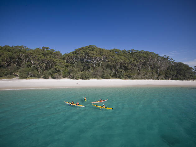 Kayaking, Booderee National Park