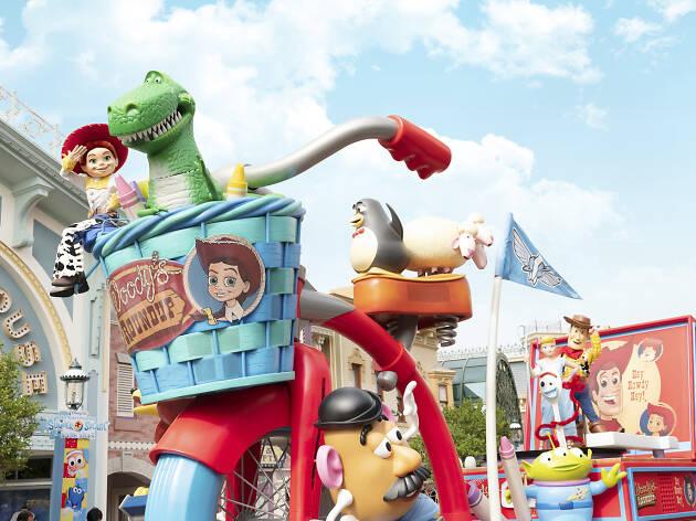 迪士尼反斗夏日-大玩水花