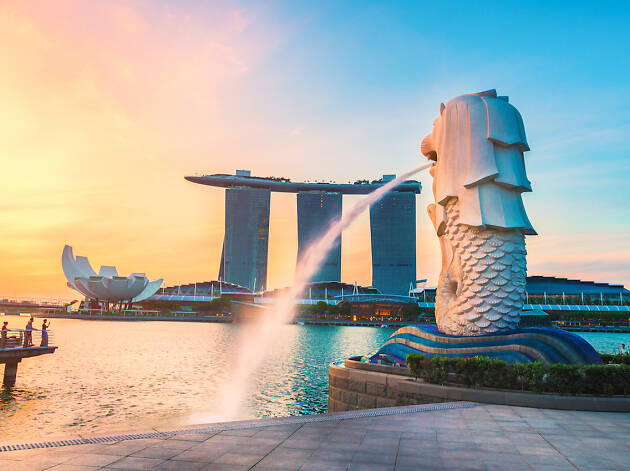 Marina Bay, Merlion