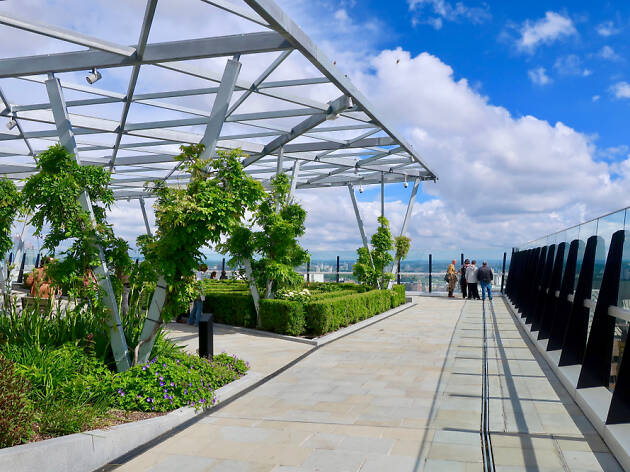 Garden at 120 Fenchurch Street