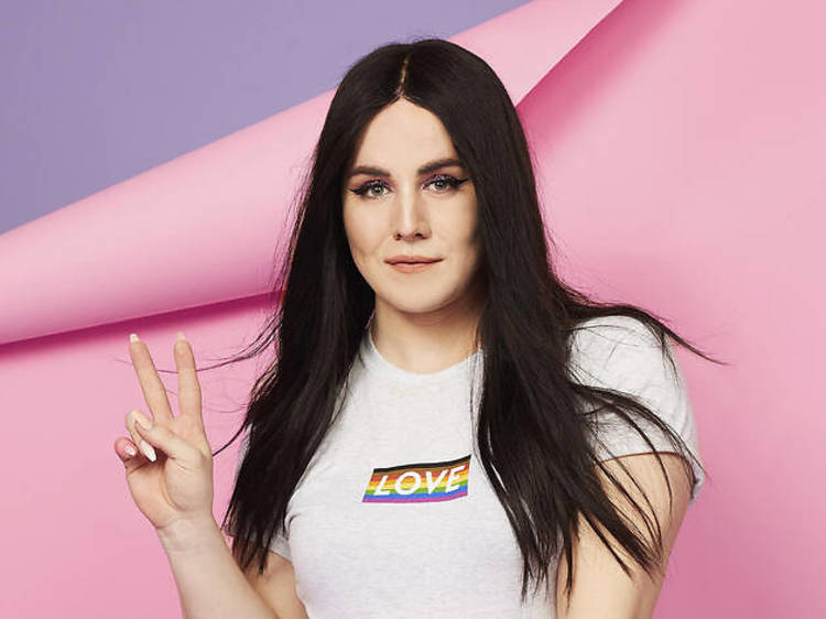 Charlie Craggs, trans activist and founder of Nail Transphobia