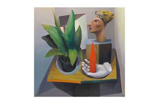 Miguel Cardenas, Still life with Obelisk, 2015