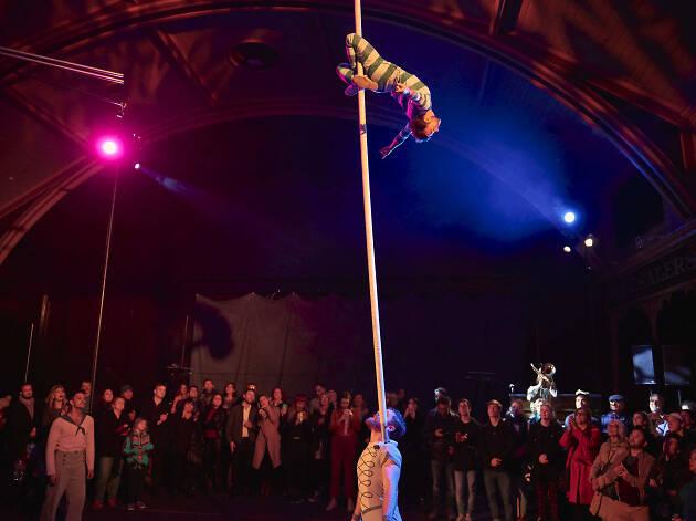 Circus Oz: Wunderage 2019 supplied