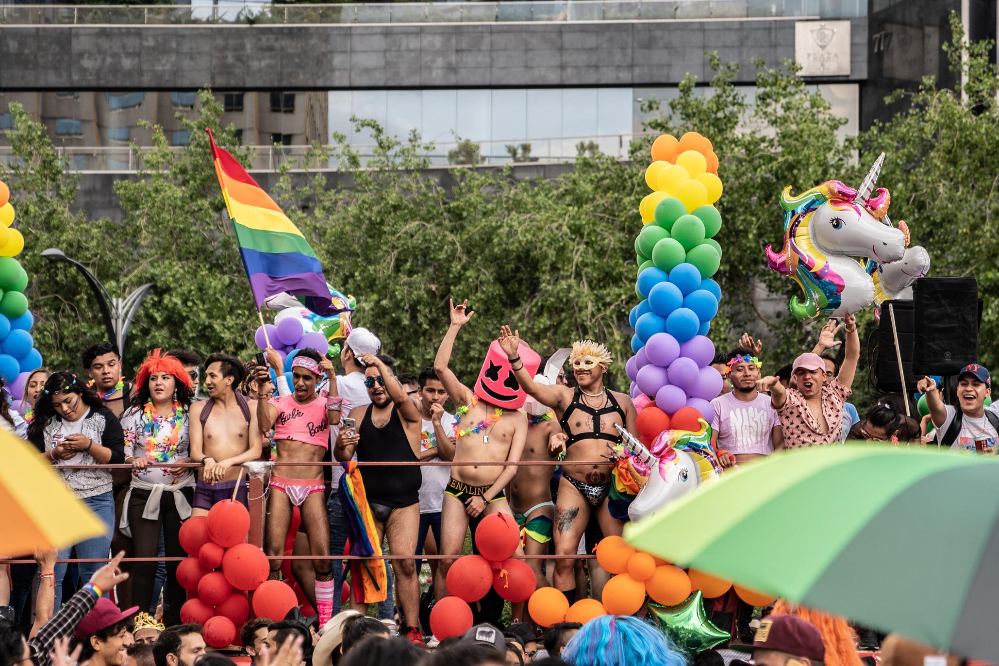 Fotogalería del pride 2019