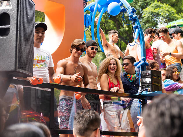Fotos de la Marcha del Orgullo LGBT del 2019 en la Ciudad de México