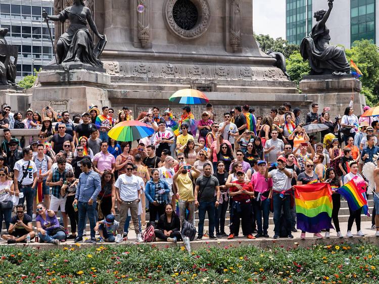 Marcha del Orgullo LGBTTTI + 2020