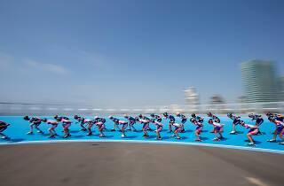 Pista de velocitat al Front Marítim