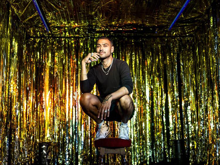 Ryan Lanji, founder of South Asian queer club night Hungama