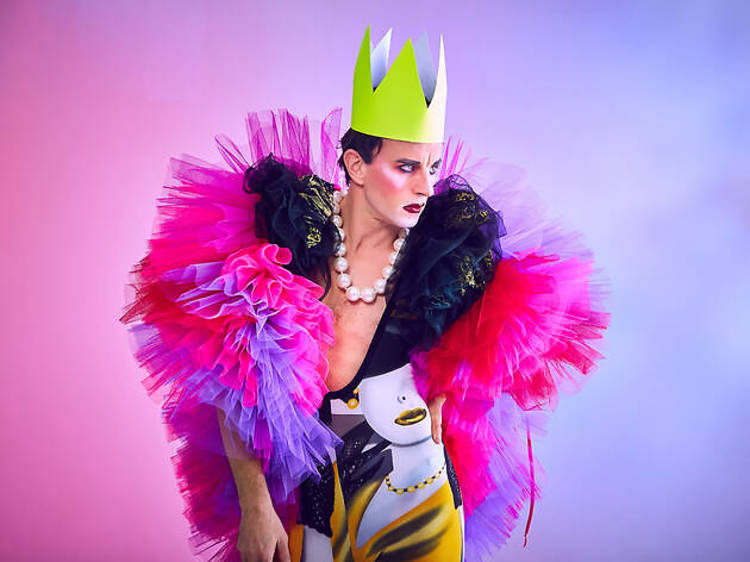 Jonny Woo, drag performer and co-owner of The Glory
