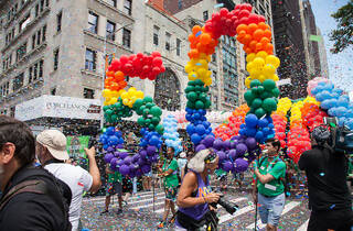 Check out photos of this year's epic, celebratory NYC Pride March