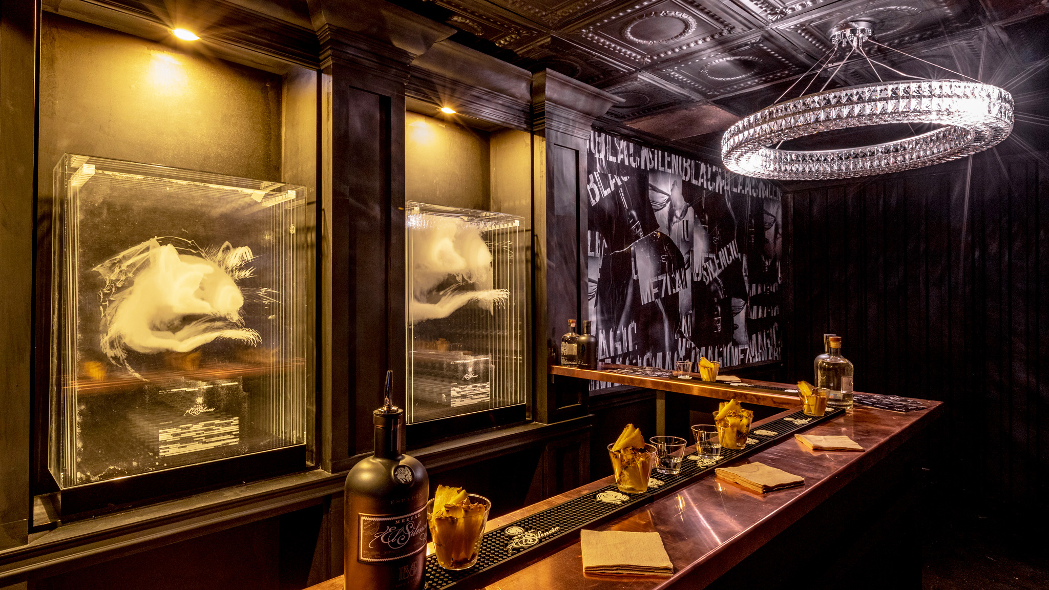 Psst—there's a new, hidden mezcal speakeasy in the LA Galaxy's soccer stadium