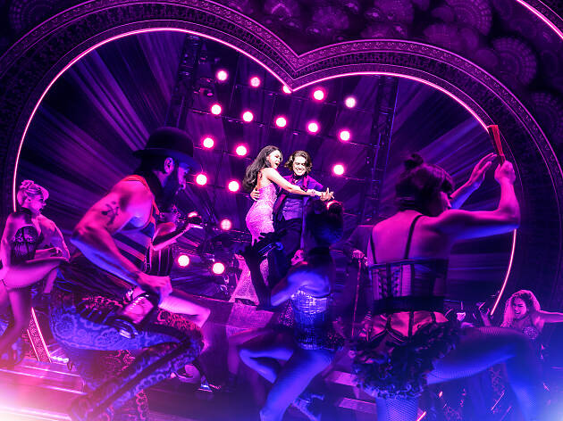 Your first look at the stunning set of Moulin Rouge! on Broadway