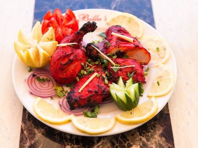 Food at Billus Indian Eatery