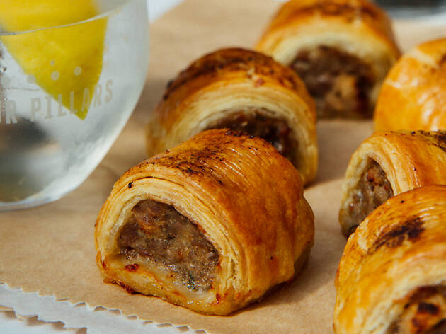 Hotel Lincoln sausage roll