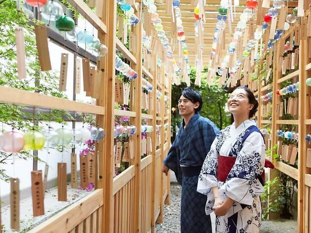 Kawagoe Hikawa Shrine Wind Chime Festival