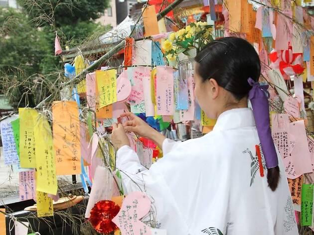 Kanda shrine tanabata