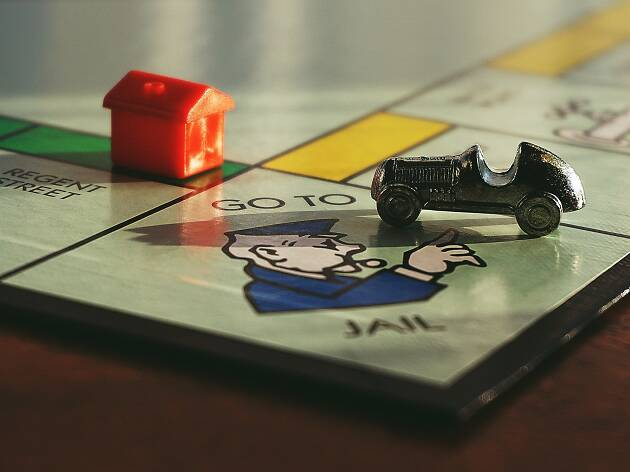 Monopoly close up