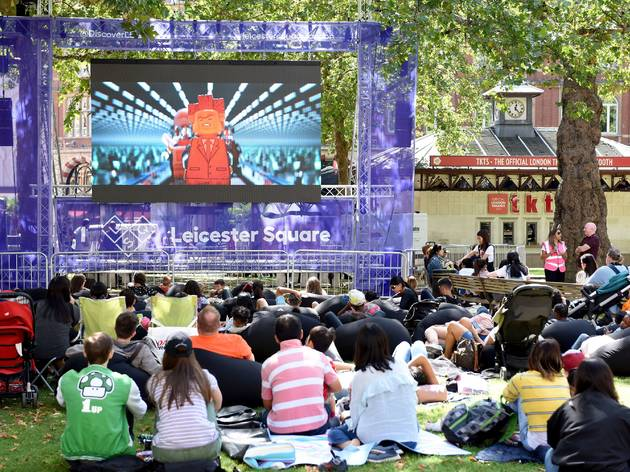 Leicester Square Summer Screen