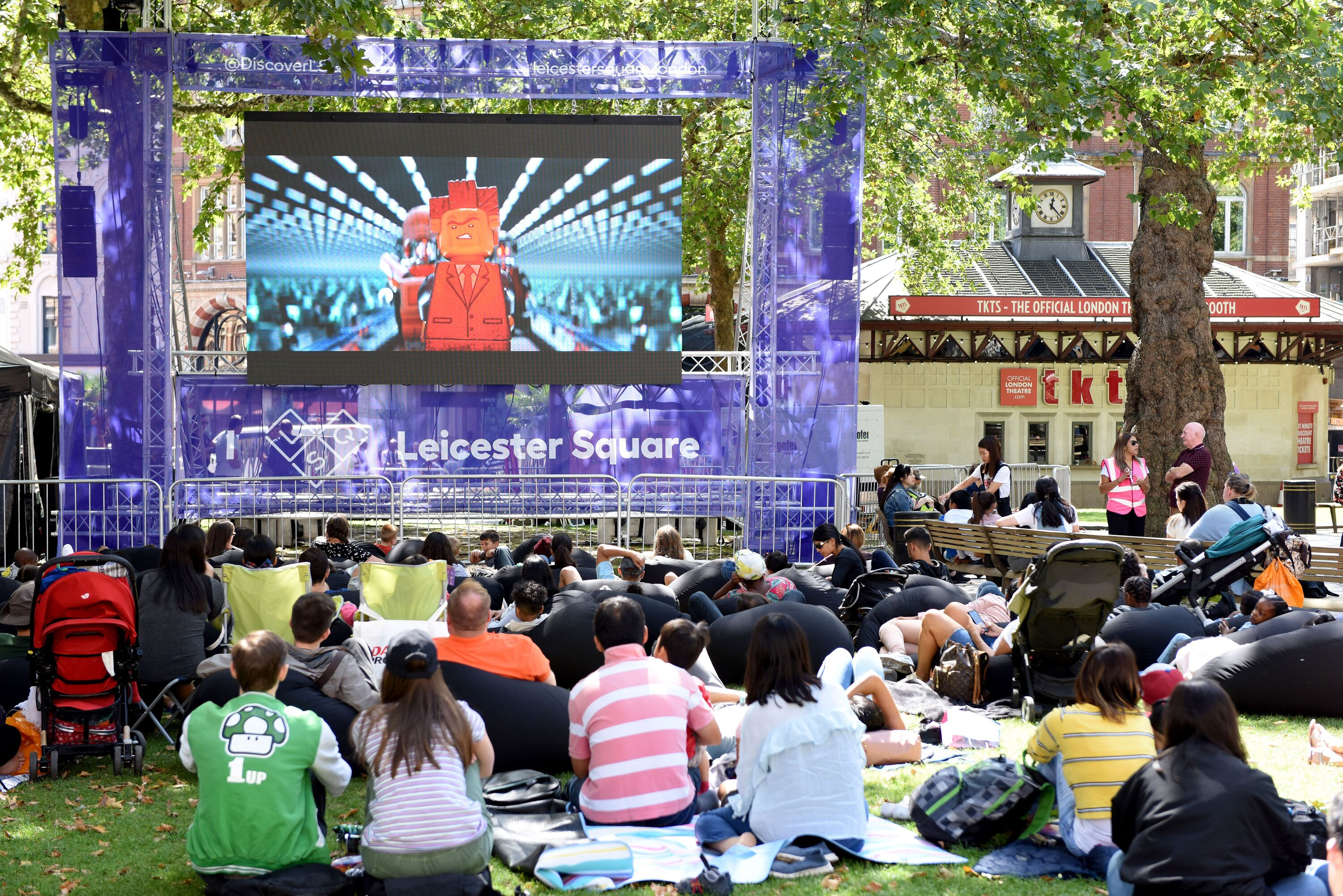 check out 5ce3b b1a67 Leicester Square Summer Screen