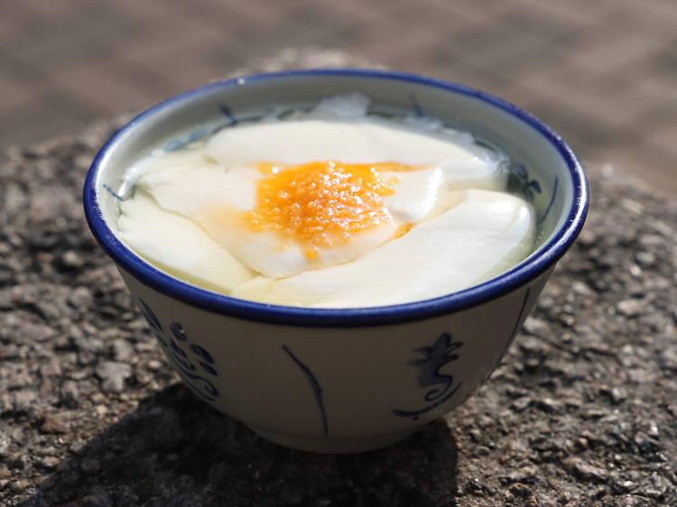 阿玉豆腐花:豆腐花 $4