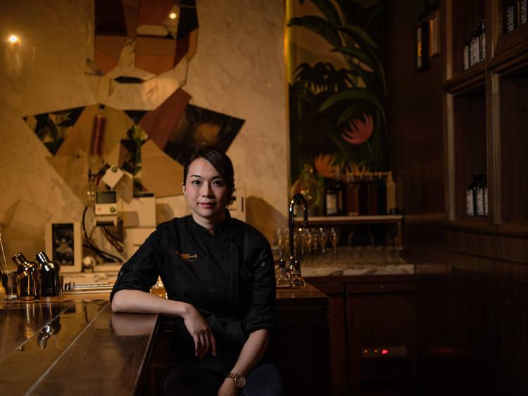 Natalie Lau, former bar manager at The Old Man HK