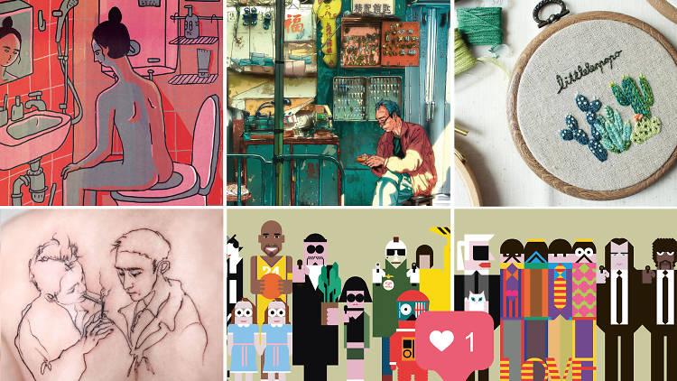 233 Art Feature, Instagram artists