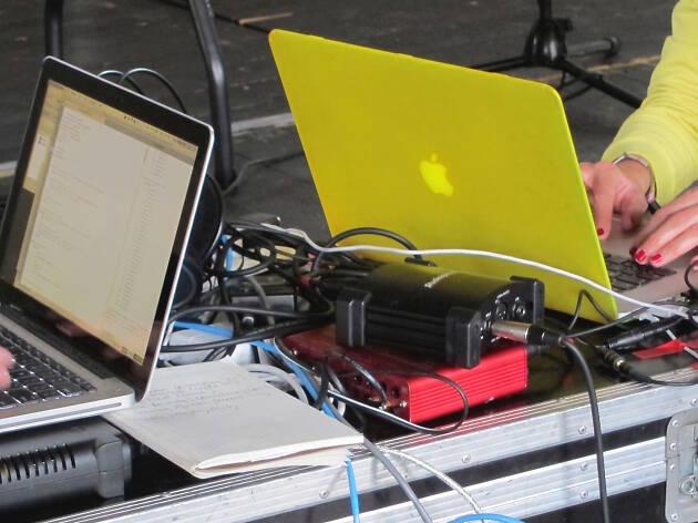 Female Laptop Orchestra