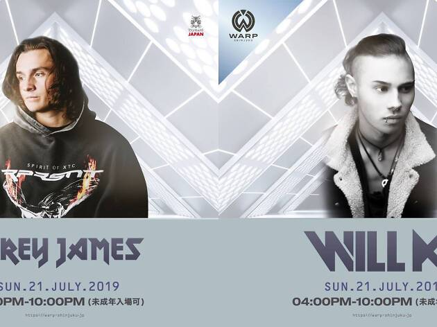 Corey James / Will K Japan Tour in Tokyo