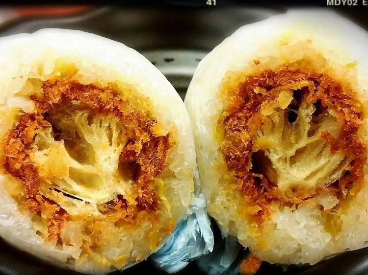 豆漿大王:上海粢飯 $16