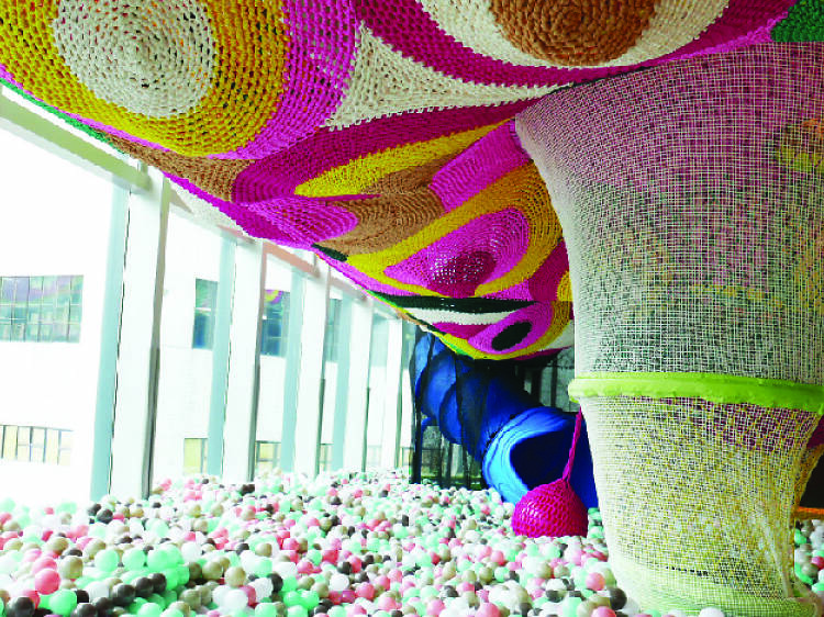 Spend an afternoon in a ball pit