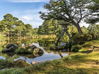 Kenroku-en Garden, Kanazawa, Ishikawa, Japan