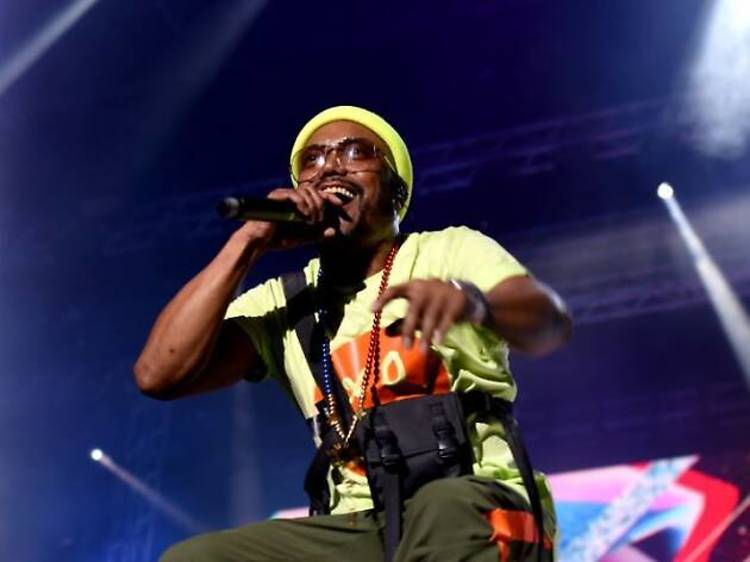 "Black Eyed Peas al Cruïlla: festa desbordant i ""xocolatina"""