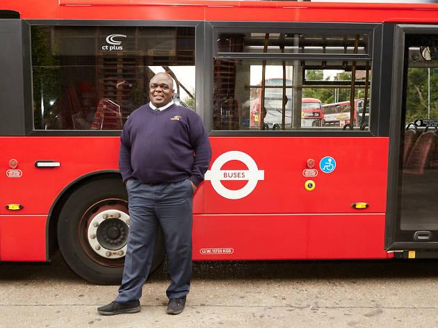 Patrick Lawson, London's happiest bus driver