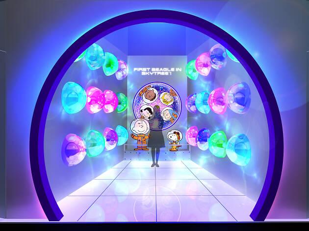 FIRST BEAGLE IN SKYTREE®︎ ! -アストロノーツスヌーピーと宇宙を知ろう-