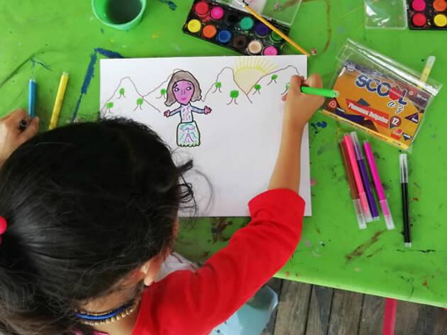 Cursos de verano para niños en el MAM