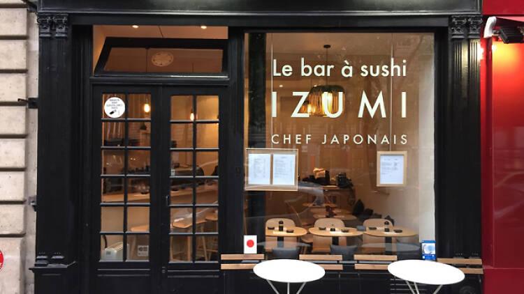 © Bar à sushi Izumi
